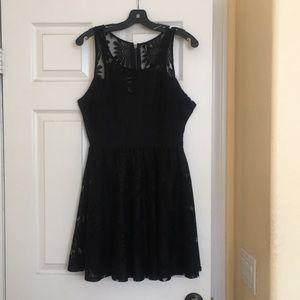 Dresses & Skirts - Black Sunflower Dress